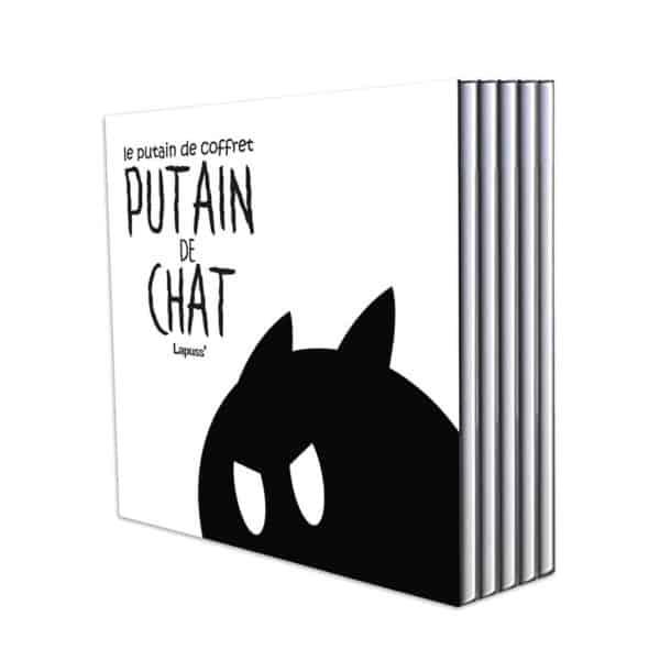 Putain de Chat Coffret by Lapuss