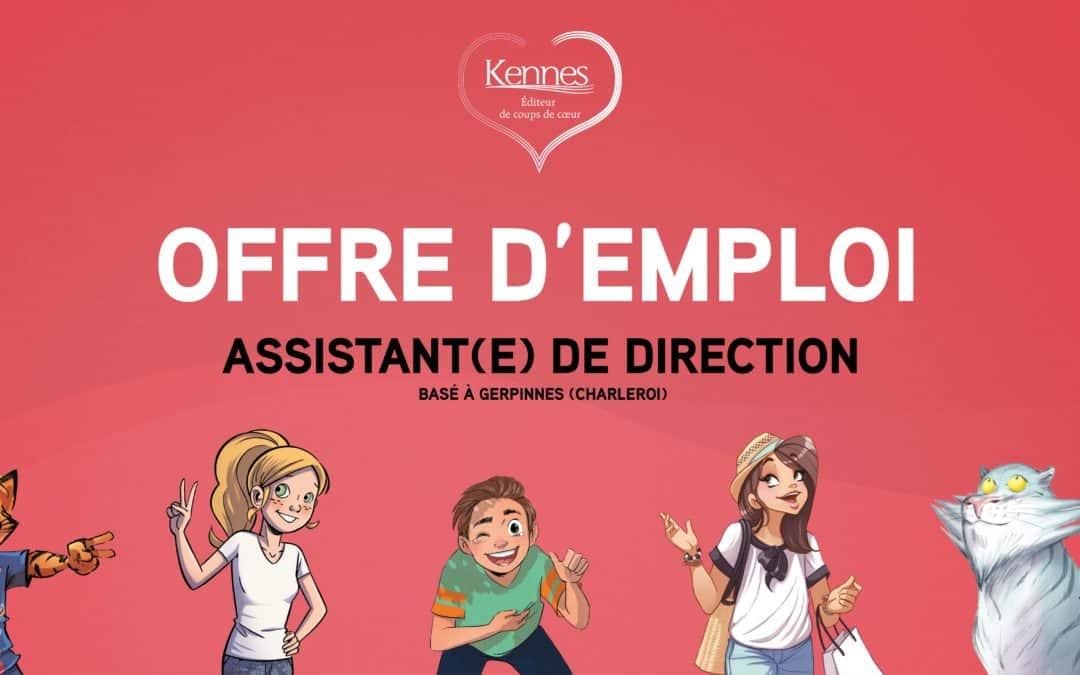 Offre d'emploi : assistant.e de direction