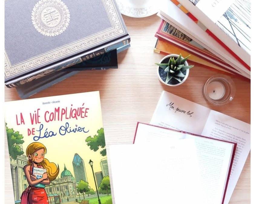 Kronique : Léa Olivier BD recueil 1
