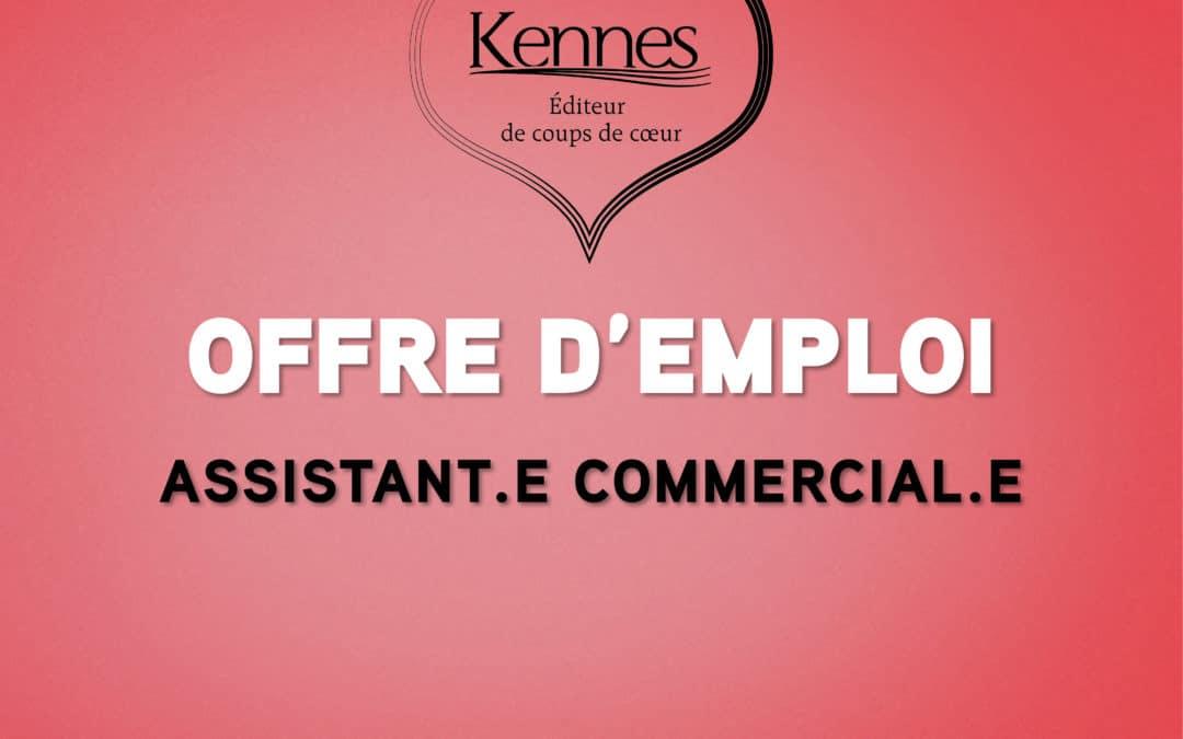Offre d'emploi : assistant(e) commercial(e)