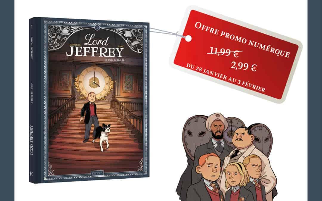 promo numérique : lord jeffrey t01 – Le train de 16h54