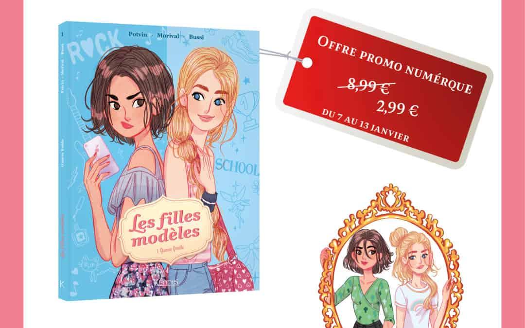 promo numérique : les filles modèles bd01