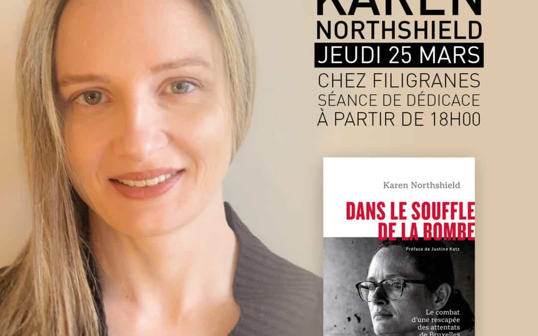 Karen Northshield en dédicace chez filigranes