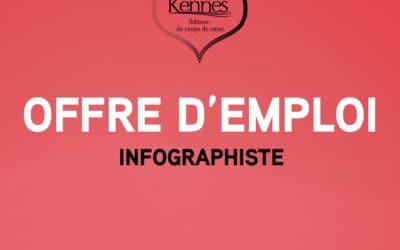Offre d'emploi : infographiste