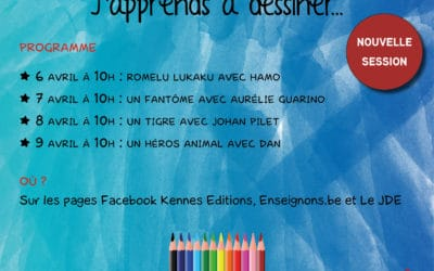 "Webinaires ""J'apprends à dessiner…"" – 2ème session"
