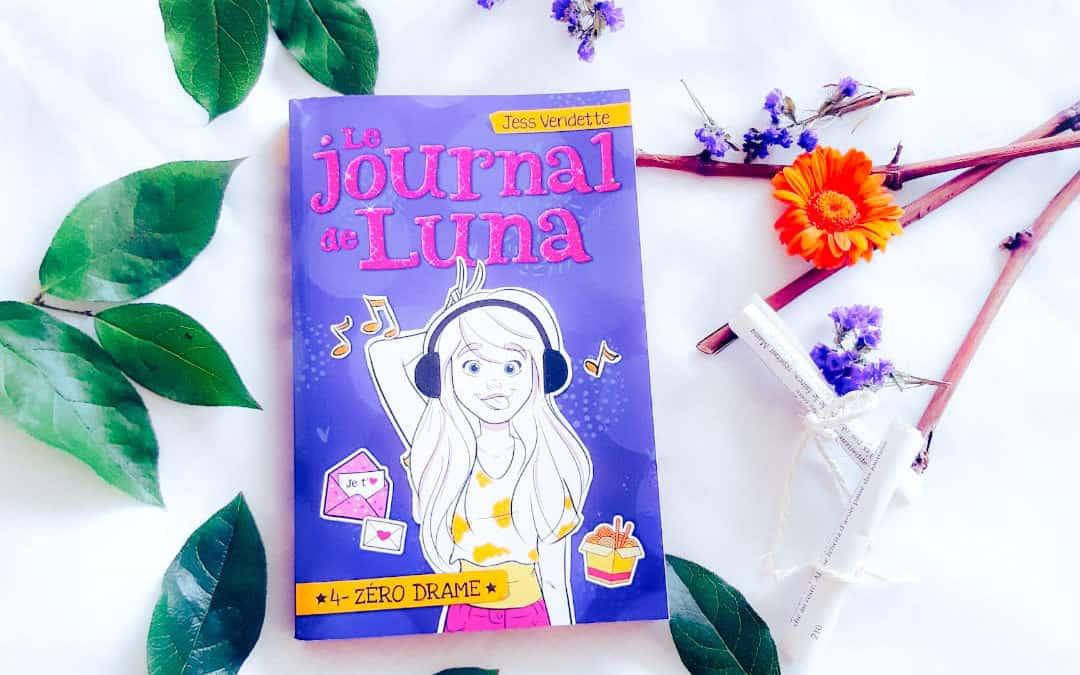 Kronique : Le Journal de Luna T04 – Zéro drame