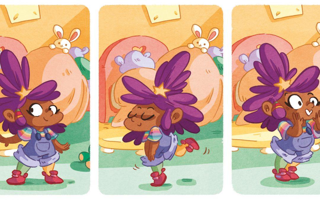 Quick look : Gabie aux craies de couleurs
